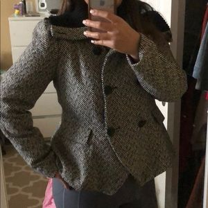 Forever 21 plus black and white Jacket XL NWT